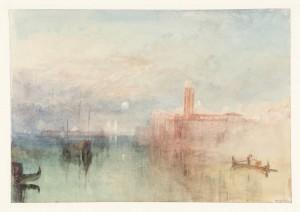 Venice, Moonrise 1840 by Joseph Mallord William Turner 1775-1851