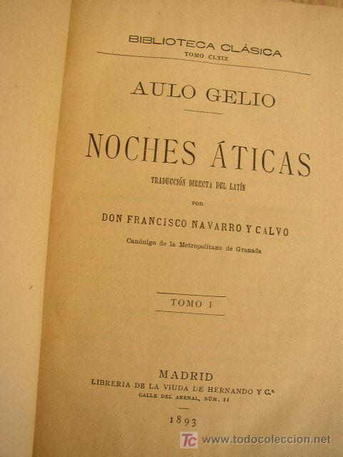 """El ejemplar de la primera versión española de las """"Noches áticas"""" de Aulo Gelio"""