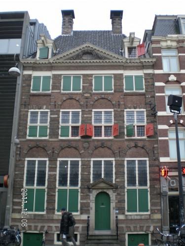 La casa de Rembrandt en el barrio judío de Ámsterdam