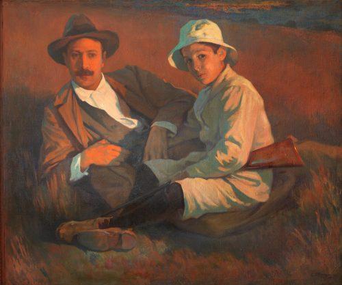 El autor y su hijo VERGER FIORETTI, CARLOS Copyright de la imagen ©Museo Nacional del Prado